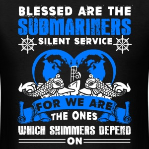 Blessed Are The Submariners Shirt - Men's T-Shirt