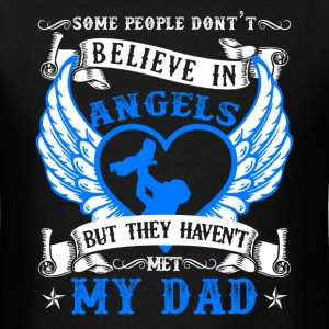 My Dad Is My Angel Shirt - Men's T-Shirt