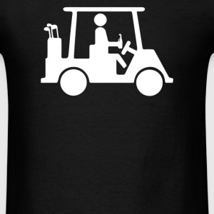 Golf Cart - Men's T-Shirt