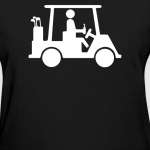 Golf Cart - Women's T-Shirt