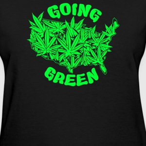 Going Green - Women's T-Shirt