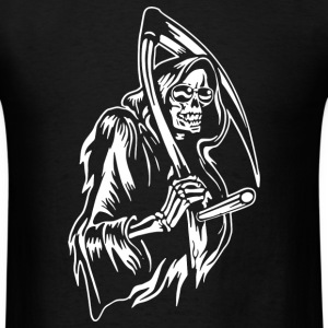 Grin Of The Reaper - Men's T-Shirt