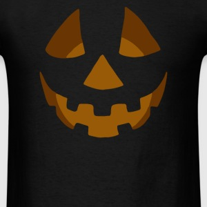 Happy Pumpkin Belly - Men's T-Shirt