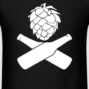 Hops Beer Bottles - Men's T-Shirt