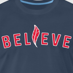 Believe Indians T-Shirt - Men's Premium T-Shirt