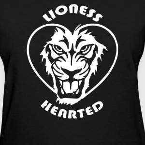 Lioness Hearted - Women's T-Shirt