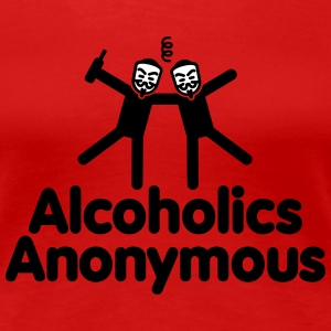 Alcoholics Anonymous T-Shirts - Women's Premium T-Shirt