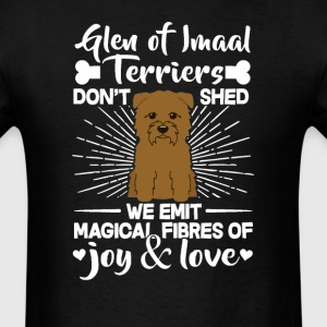 Glen Of Imaal Terriers Hair - Don't Shed T-Shirt T-Shirts - Men's T-Shirt