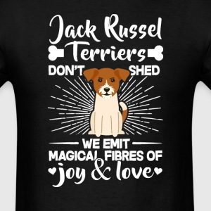 Jack Russel Terriers Hair - Don't Shed T-Shirt T-Shirts - Men's T-Shirt