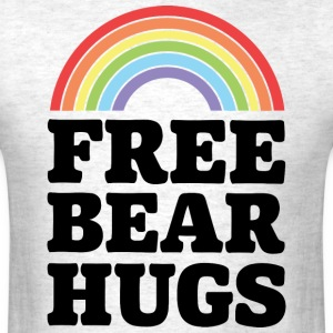 Free Bear Hugs - Men's T-Shirt