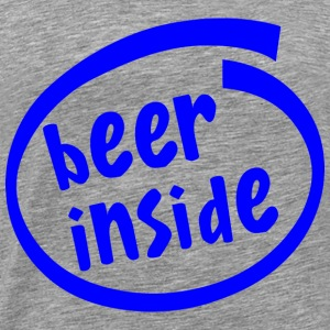 Beer Inside T-Shirts - Men's Premium T-Shirt