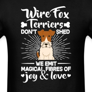 WireFox Terriers Hair - Don't Shed T-Shirt T-Shirts - Men's T-Shirt
