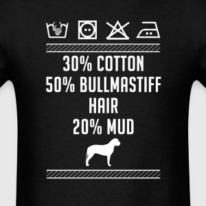 Bullmastiff Hair - Washing Label T-Shirt T-Shirts - Men's T-Shirt