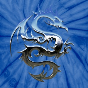 Blue dragon - Unisex Tie Dye T-Shirt