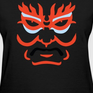 Japanese Kabuki Mask - Women's T-Shirt