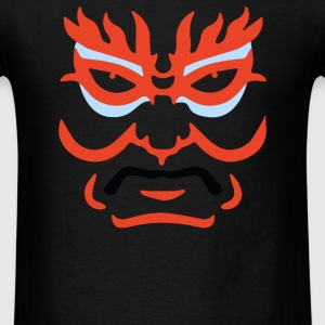 Japanese Kabuki Mask - Men's T-Shirt