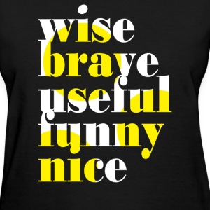 Motivational Words - Women's T-Shirt