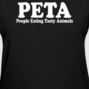 People Eating Tasty Animals - Women's T-Shirt