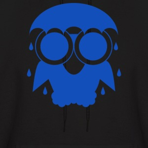 Owl In The Rain - Men's Hoodie