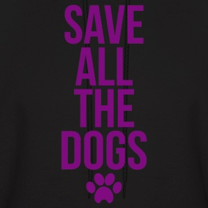 Save All The Dogs - Men's Hoodie