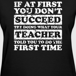 Teach Success Tee - Women's T-Shirt