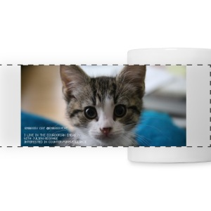 Embassy Cat Mug Mugs & Drinkware - Panoramic Mug