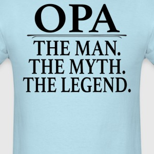 Opa The Man The Myth The Legend - Men's T-Shirt
