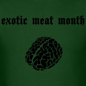 Men's exotic meat month basic tee - Men's T-Shirt