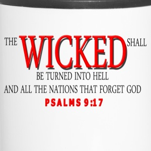 WICKED RED Mugs & Drinkware - Travel Mug