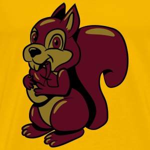 Squirrel fruition sweet sweet T-Shirts - Men's Premium T-Shirt