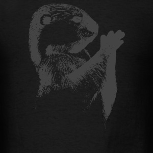 Otter Sketch - Men's T-Shirt