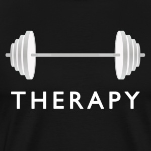 Gym Therapy / Weight Workout T-Shirts - Men's Premium T-Shirt