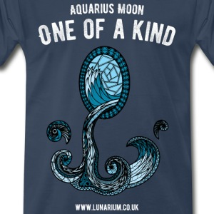Aquarius Moon Men's Premium T-Shirt  - Men's Premium T-Shirt