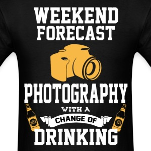 Photography With A Chance Of Drinking T-Shirts - Men's T-Shirt
