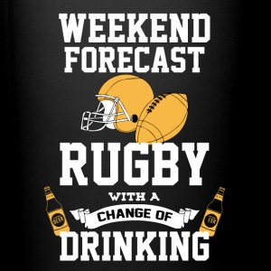 Rugby With A Chance Of Drinking Mugs & Drinkware - Full Color Mug