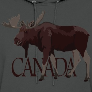 Canada Moose Hoodies Canada Souvenir Hooded Sweats - Women's Hoodie