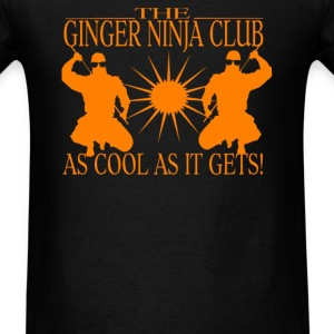 Ginger Ninja - Men's T-Shirt
