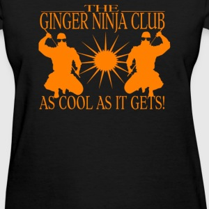 Ginger Ninja - Women's T-Shirt