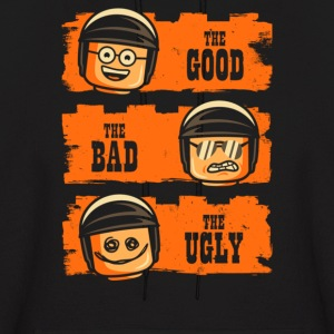 GOOD COP BAD COP UGLY COP - Men's Hoodie