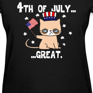 Grumpy Patriot - Women's T-Shirt