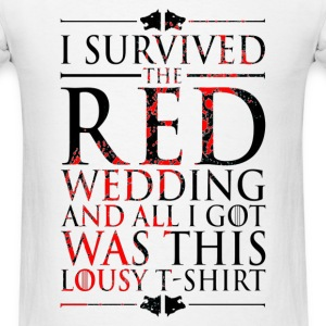 iii survived - Men's T-Shirt
