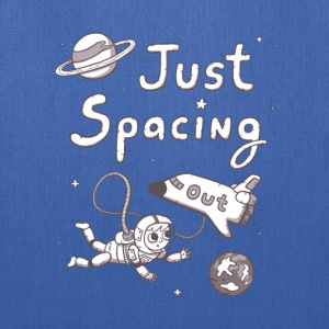 Just Spacing out in Space Bags & backpacks - Tote Bag