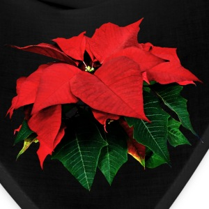 Poinsettia and Leaves Caps - Bandana