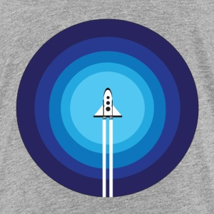 Rocket over the blue planet - Toddler Premium T-Shirt