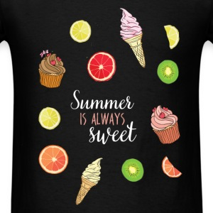 Summer is always sweet - Men's T-Shirt