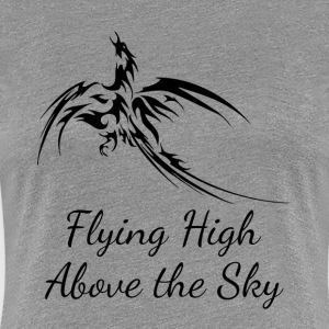 PHOENIX FLYING HIGH ABOVE THE SKY T-Shirts - Women's Premium T-Shirt