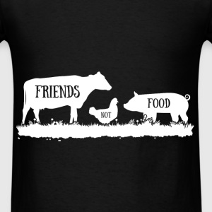 Friends not food - Men's T-Shirt