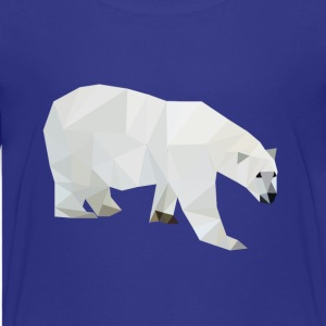 Geometric Polar Bear - Kids' Premium T-Shirt