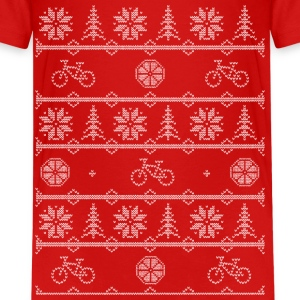 bicycle winter Kids' Shirts - Kids' Premium T-Shirt