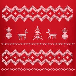 xmas snowman winter Long Sleeve Shirts - Crewneck Sweatshirt